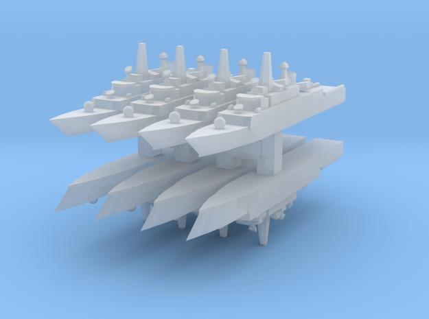 Mowj Frigate 1:6000 x8 in Smooth Fine Detail Plastic
