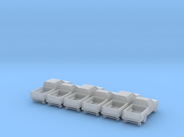 MOW Pickup - Set - Z scale 3d printed