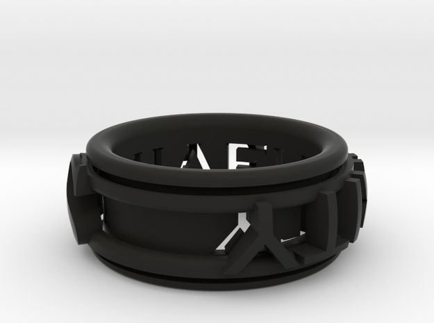 Singularity ring 3d printed