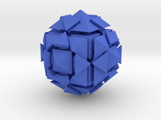 Rhombic18 Puzzle set A 3d printed