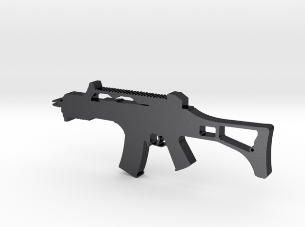 HK G36 Assault Rifle Pendant 3d printed