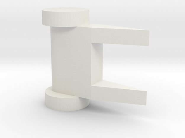 Anto3 Model in White Natural Versatile Plastic