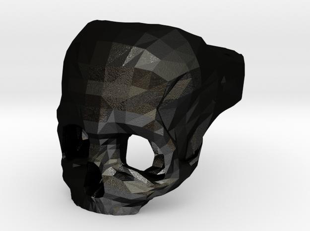 Skull Ring US 7 3d printed