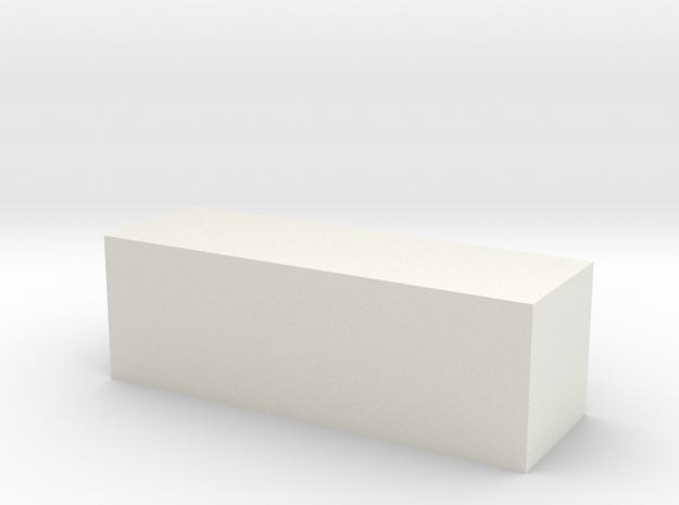 Block 4x4x12 3d printed