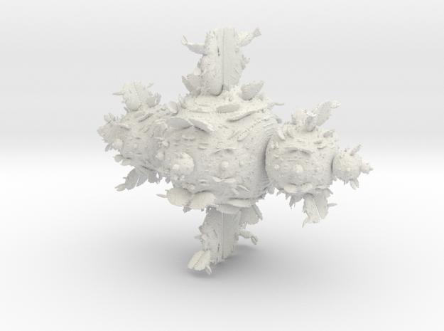 Juliabulb z^2 in White Natural Versatile Plastic