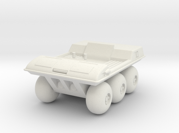 GV01 Moon Buggy in White Natural Versatile Plastic