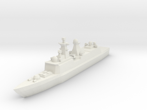 Type 054A 1:2400 3d printed