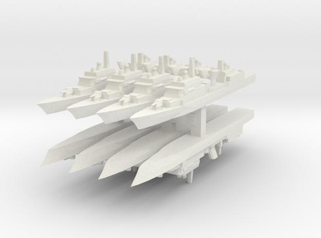 KDX-I 1:6000 x8 in White Natural Versatile Plastic