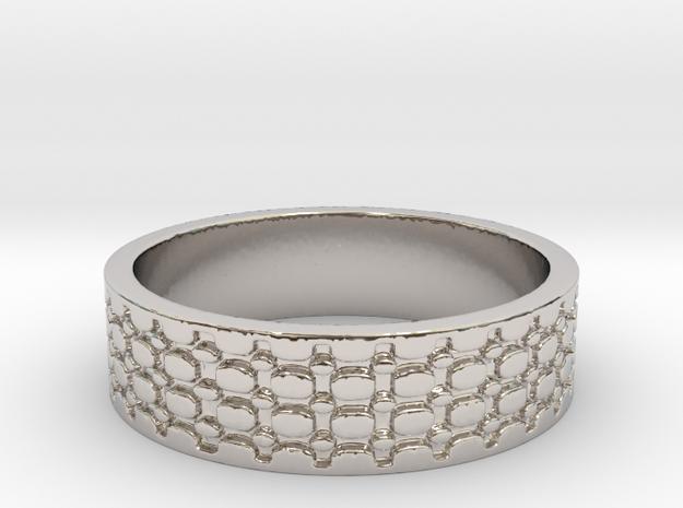 Beads (Size 12) in Platinum