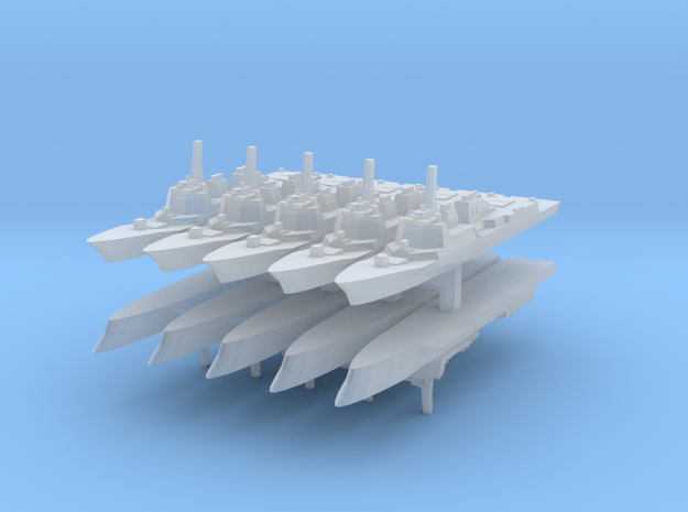 KDX-III 1:6000 x10 in Smooth Fine Detail Plastic