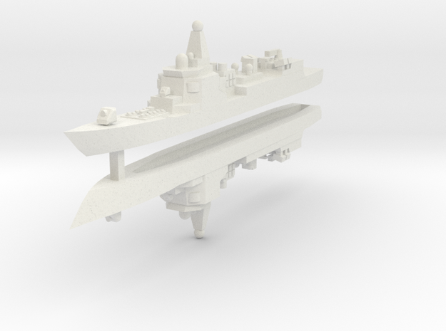 052 PLAN Destroyer 1:3000 x2 3d printed