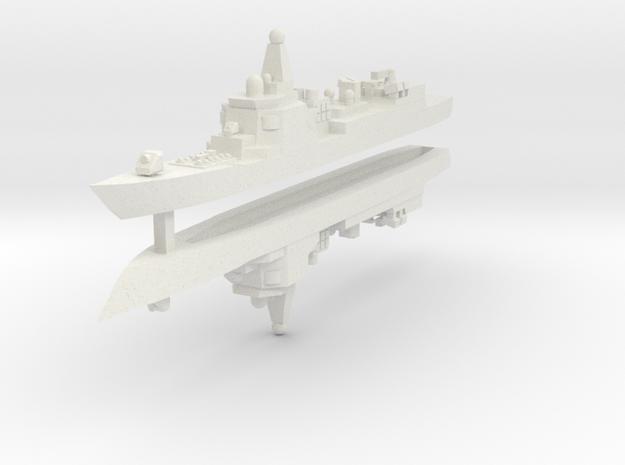 052 PLAN Destroyer 1:3000 x2 in White Natural Versatile Plastic