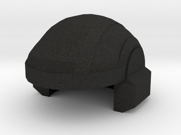 Space Marine Trooper Helmet Mark I in Black Acrylic