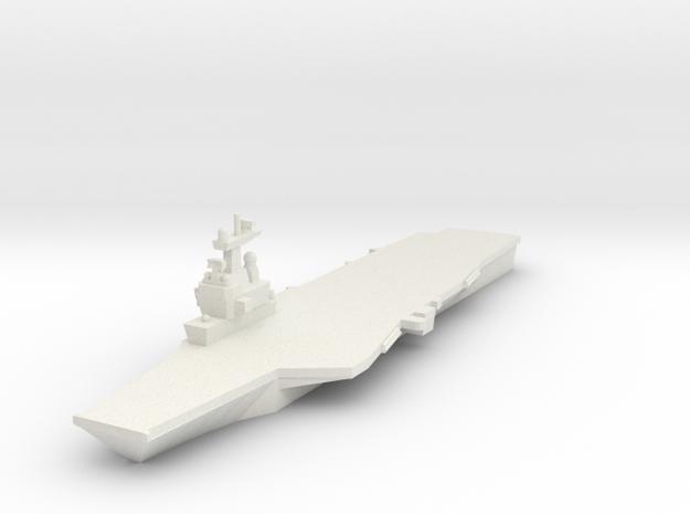 Charles de Gaulle CVN 1:3000 x1 in White Natural Versatile Plastic