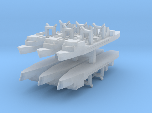 Durance Class  1:6000 x6 in Smooth Fine Detail Plastic