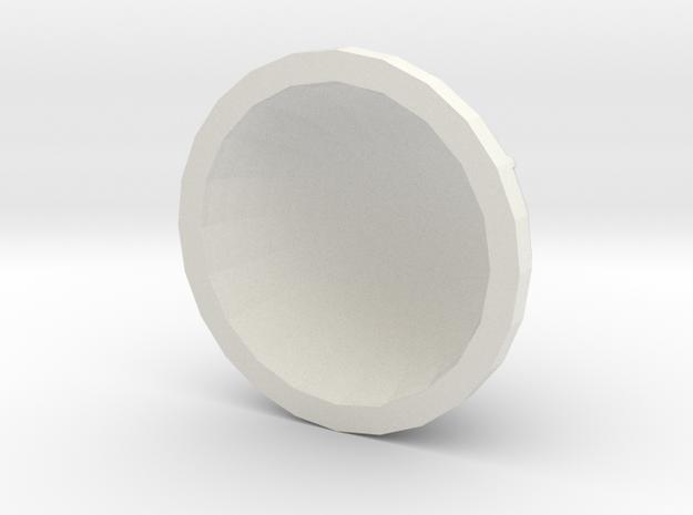 UFO cockpit in White Natural Versatile Plastic