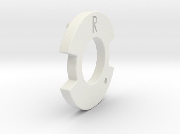 Bugaboo Gen 1&2 Locking Disk Right Side in White Natural Versatile Plastic