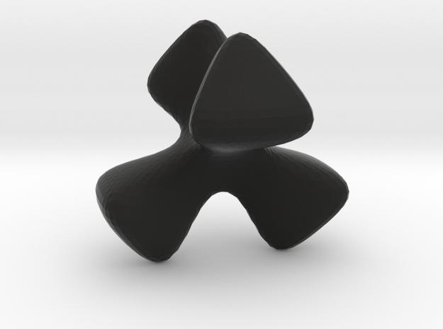 KusnerSchmidt implicit tetrahedron 3d printed