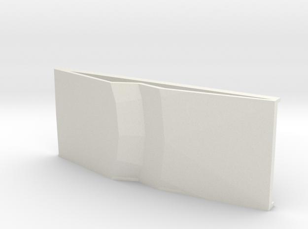 UFO ramp2 in White Natural Versatile Plastic