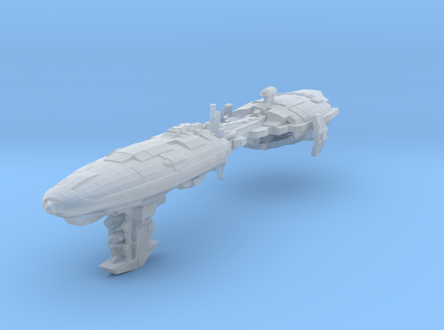 EU Pulson D Frigate in Smooth Fine Detail Plastic