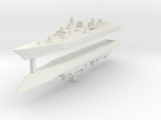 Type 052B 1:3000 x2 3d printed