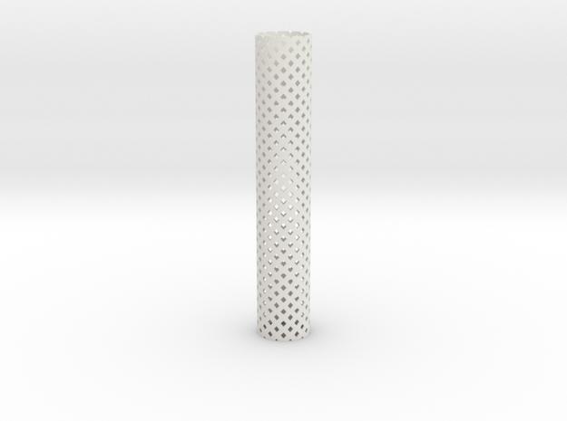 Square Perforated Tubing 16 cm 3d printed
