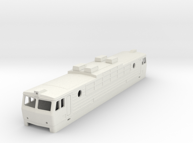 H0 SR1 in White Natural Versatile Plastic