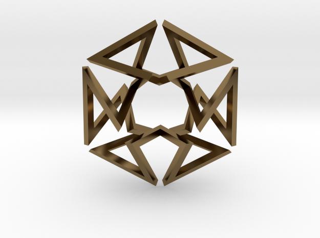 Regular Constant-torsion Polygon (++-++--+--)^3 3d printed
