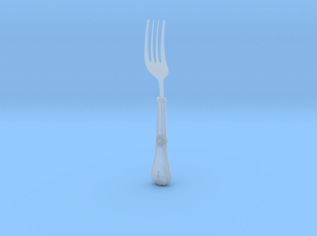 Gothic Fork 3d printed