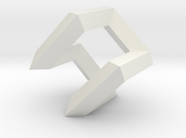 Hamilton Cycle on Cube 3d printed