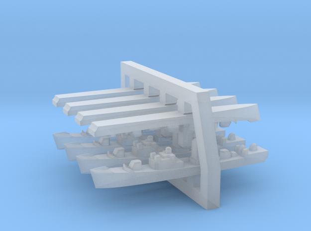 1:6000 Mirka+Petya Soviet FFL with mast (4 +4 mode 3d printed