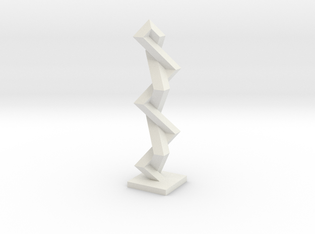Fence around Nothing (rhombic beam) 3d printed