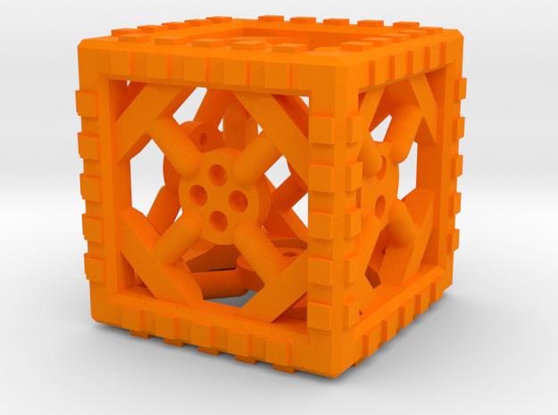 Industrial d6 Plastic 3d printed