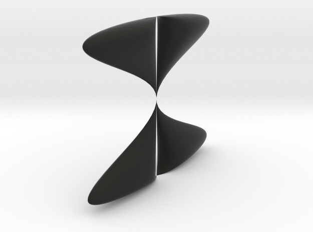 Piriform drop sinoid 3d printed