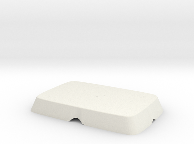Tpac Cover Nohol Mm 02 in White Natural Versatile Plastic