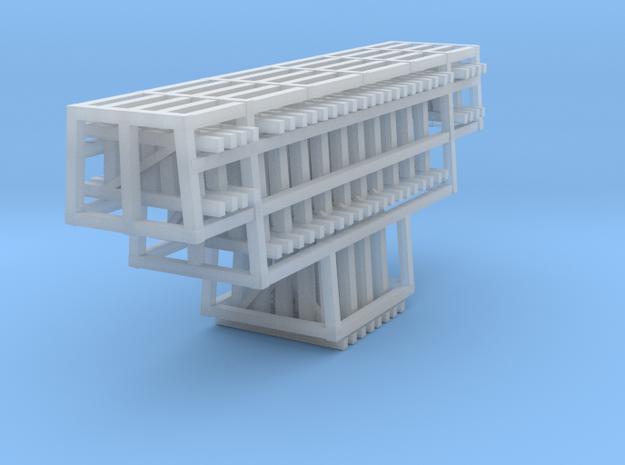 Bents Wood Trestle 1 3d printed