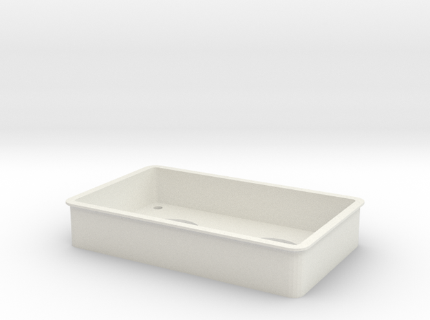 Tpac Microtray Mm 14 in White Natural Versatile Plastic