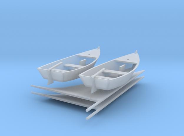 Jacht Type A H0 1:87 3d printed