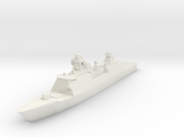 De Zeven Provinciën class frigate 1:2400 3d printed