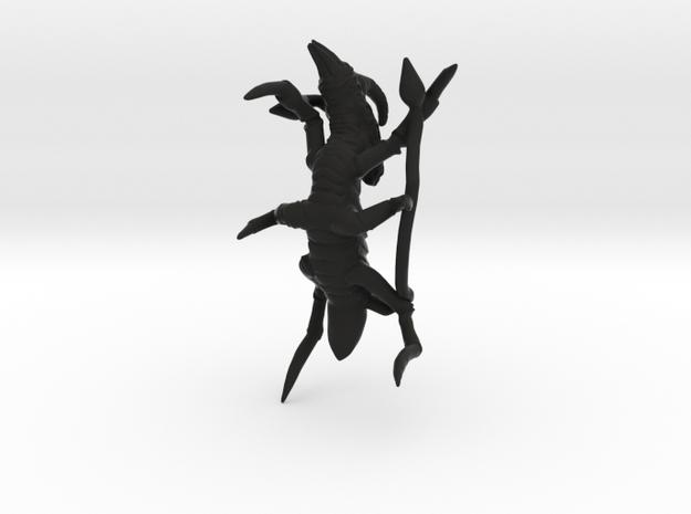Xachni Alien Creature 3d printed