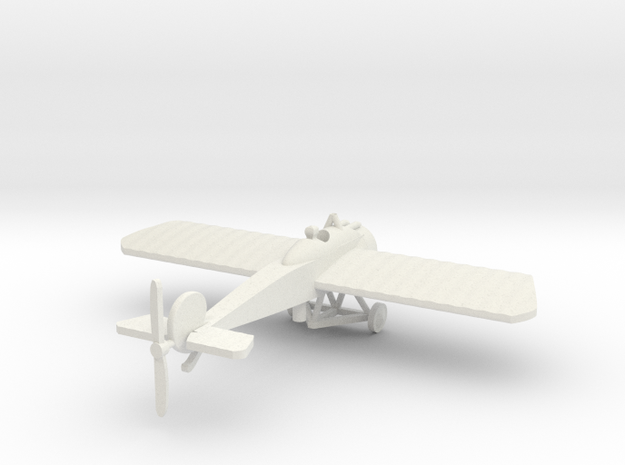 Fokker EIV & pilot 1/144th scale  in White Natural Versatile Plastic