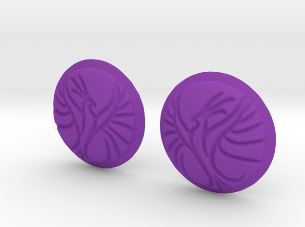 Phoenix Button 3d printed