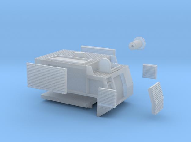 U20-TLF-Aufbau aus Kroatien in Smooth Fine Detail Plastic