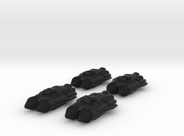 BFG Scrap Fleet Ram Ships Mk3 (x4) 3d printed