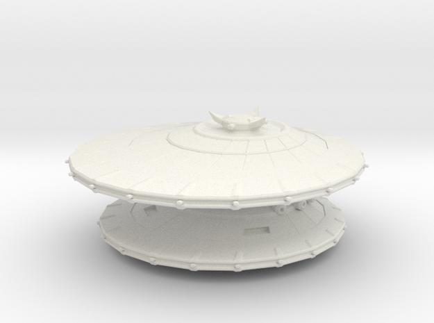 EU  Consortium Dragon battleship in White Natural Versatile Plastic