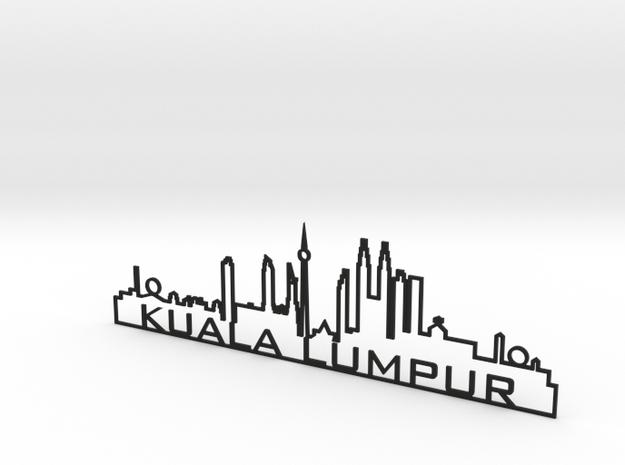 Kuala Lumpur 3d printed