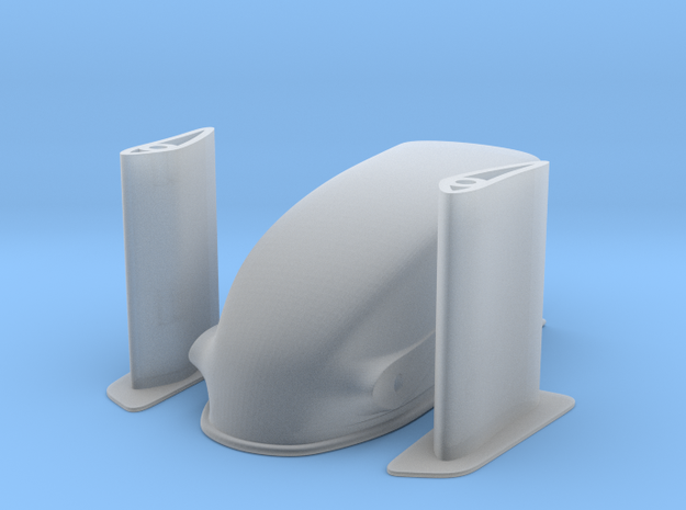 1/8 Scale Dragster Nose 3d printed