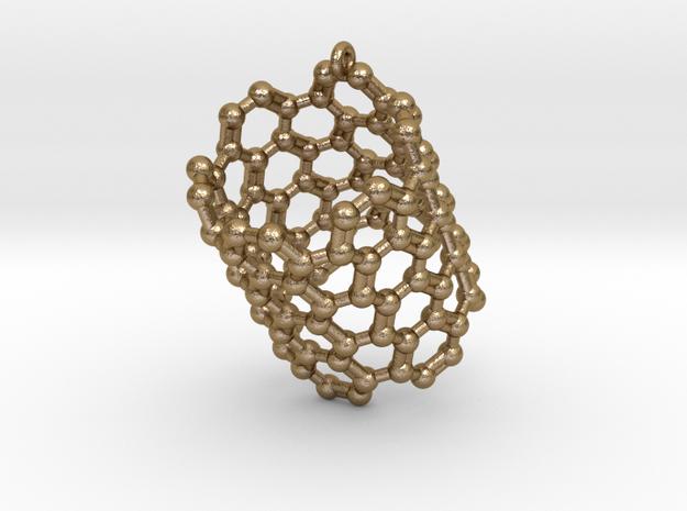 Pendant- Molecule- Carbon Nanotube 3d printed