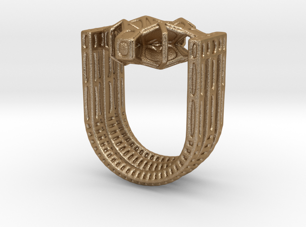 Tetrahedrical ring v2 3d printed