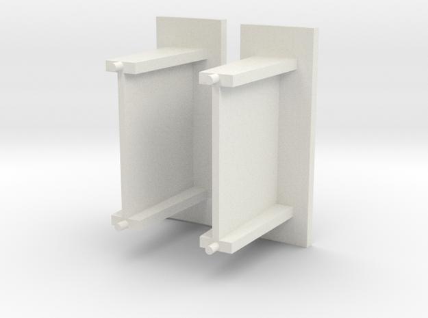 Kleine abri beton schaal N in White Natural Versatile Plastic
